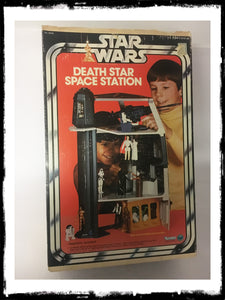 STAR WARS - VINTAGE 1977 DEATH STAR PLAYSET!