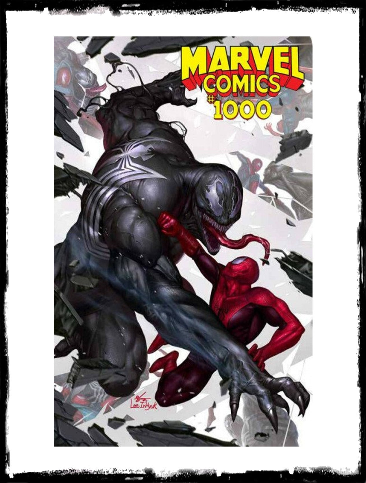 MARVEL COMICS #1000 - IN-HYUK LEE VARIANT (2019 - NM)