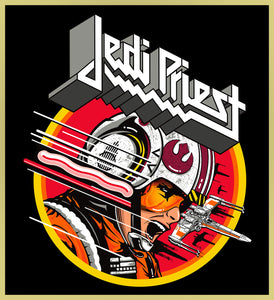 JEDI PRIEST - STAR WARS HEAVY METAL TURBO TEE! (LIMITED EDITION)