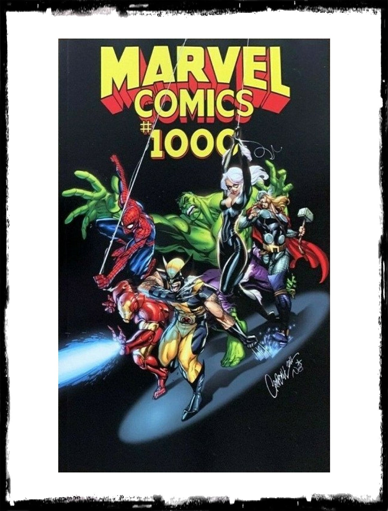 MARVEL COMICS #1000 - J. SCOTT CAMPBELL VARIANT (2019 - NM)