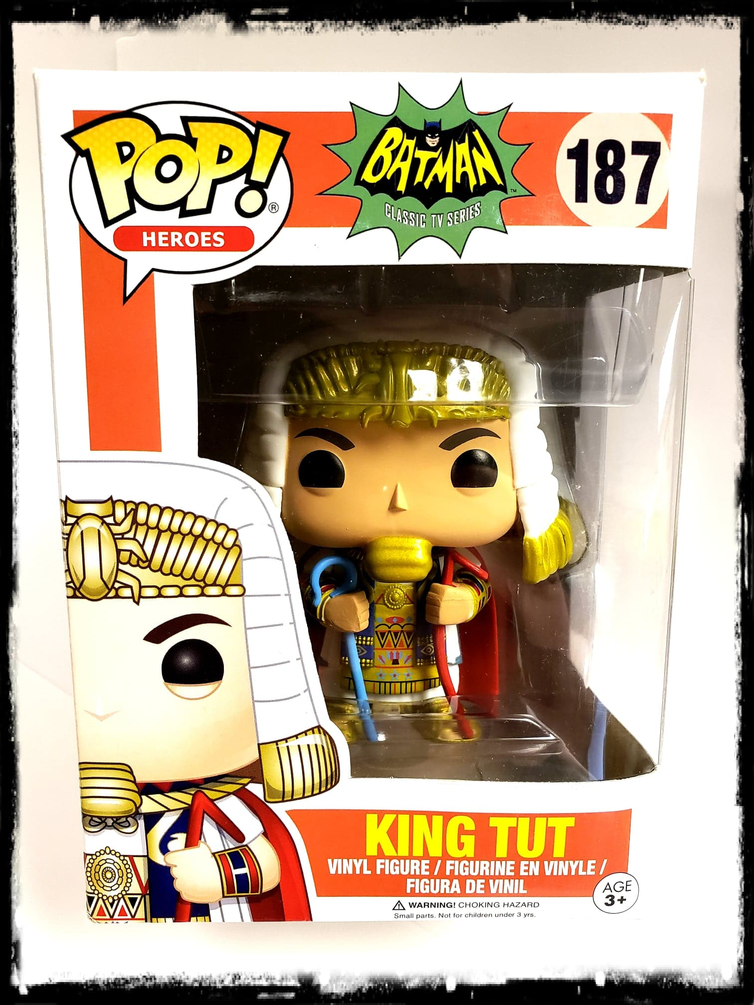 KING TUT (CLASSIC 1966 TV) #187 - FUNKO POP! (2017)