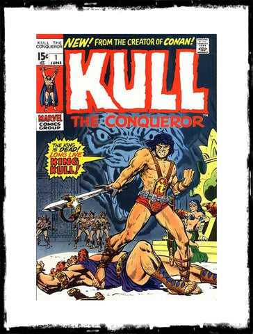 KULL THE CONQUEROR - #1 (1971 - CONDITION F/VF)