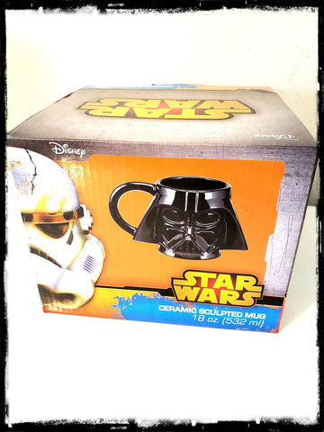 STAR WARS - DARTH VADER CERAMIC SCULPTED MUG!