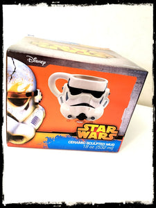 STAR WARS - STORM TROOPER CERAMIC SCULPTED MUG!
