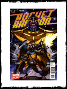 ROCKET RACCOON - #1 POLY-BAGGED LOOT CRATE VARIANT (2014 - CONDITION NM)