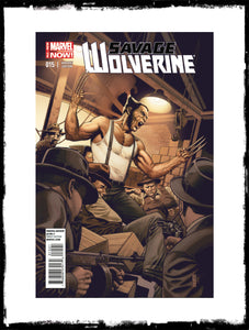 SAVAGE WOLVERINE - #15 J.G. JONES 1:50 VARIANT (2014 - NM)