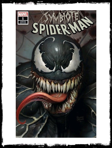 SYMBIOTE SPIDER-MAN - #1 RYAN BROWN EXCLUSIVE VARIANT (2019 - CONDITION NM)