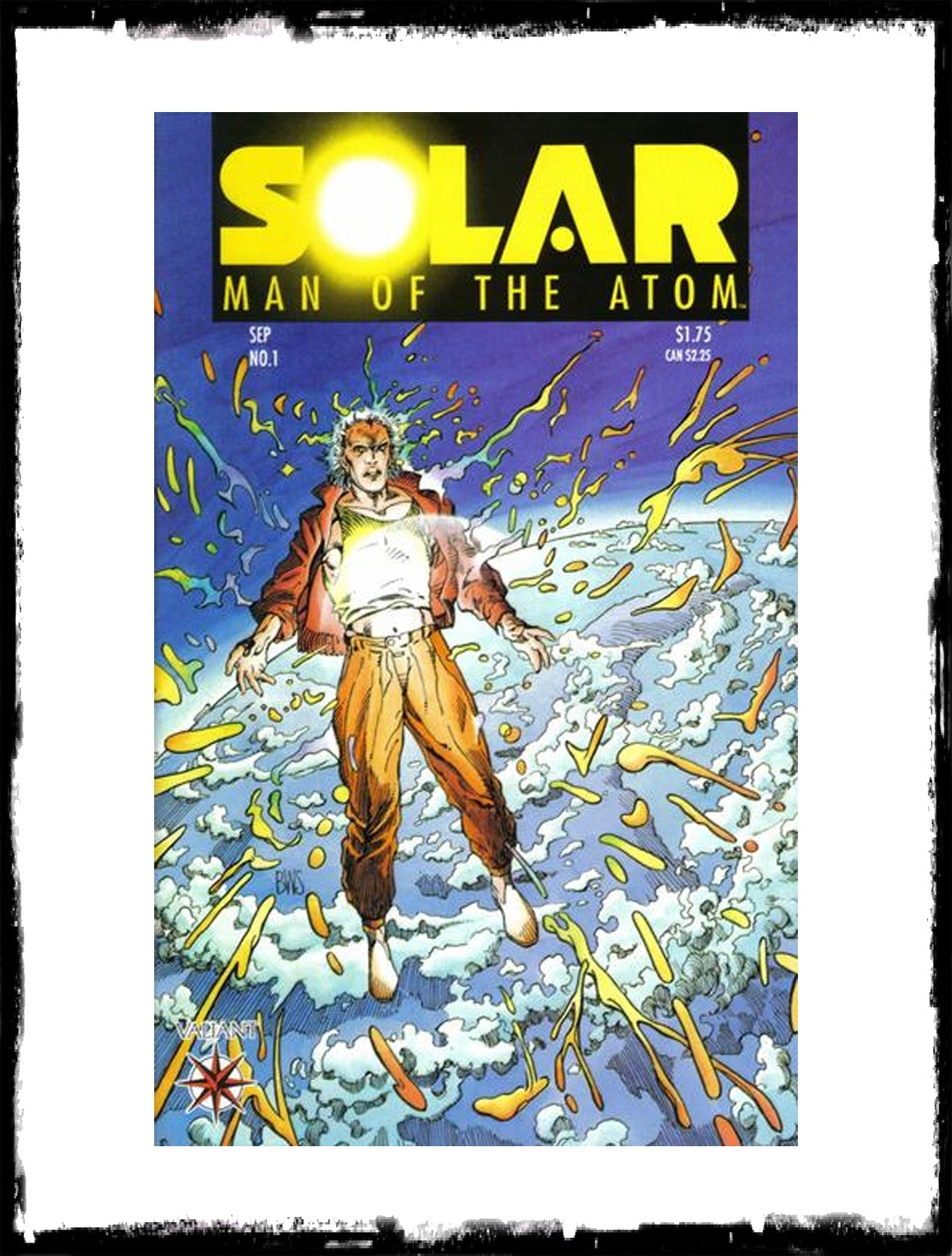 SOLAR, MAN OF THE ATOM - #1 (1991 - CONDITION VF)
