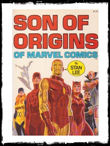SON OF ORIGINS: OF MARVEL COMICS BY STAN LEE - 1972 - VF TRADE PAPERBACK