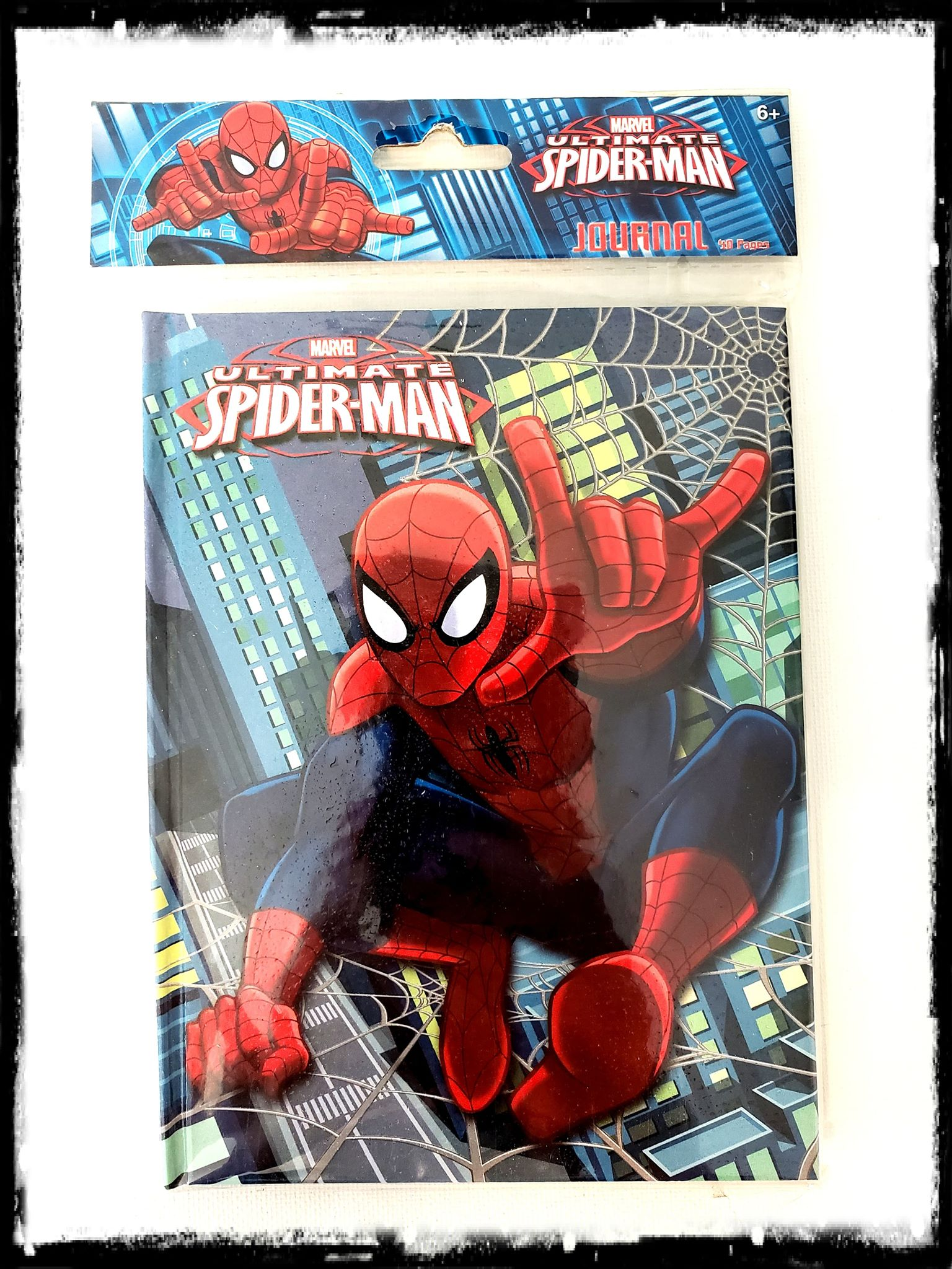 MARVEL - SPIDER-MAN - DIARY / JOURNAL / NOTEPAD