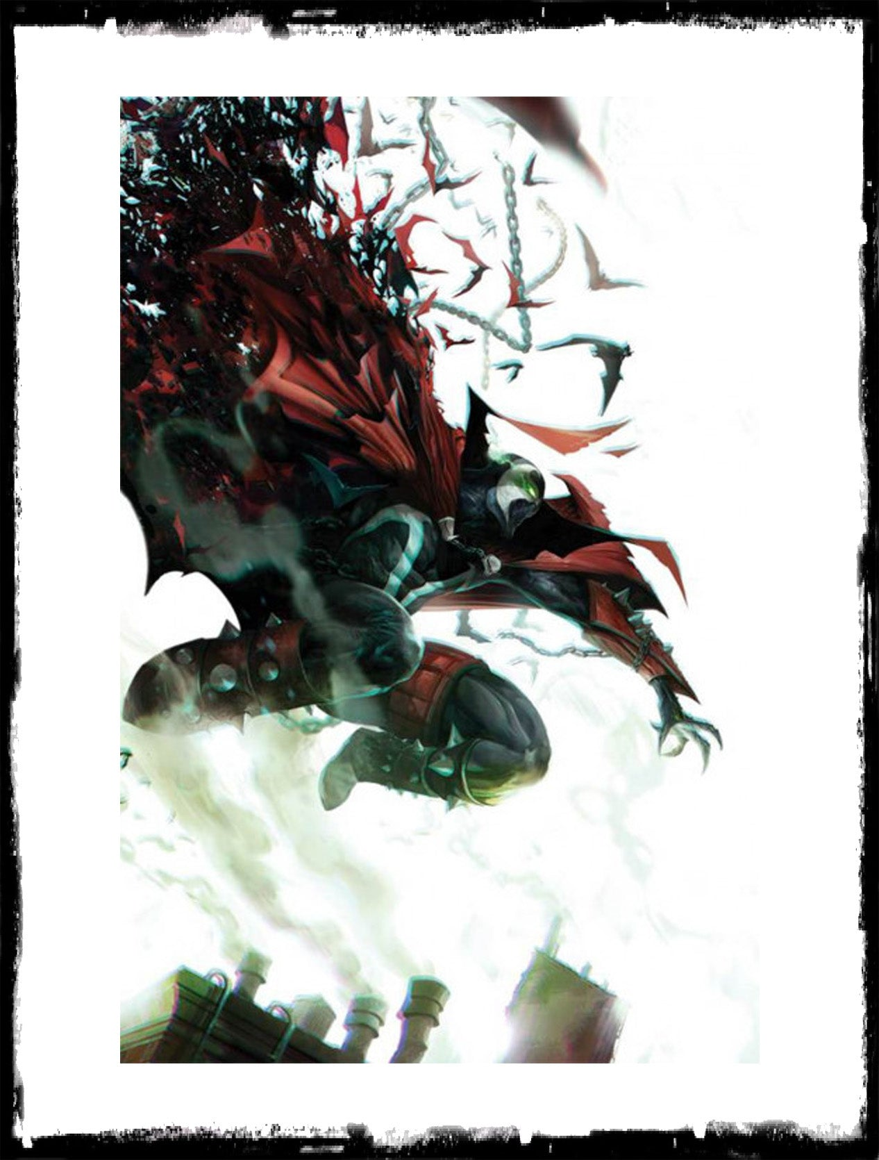 SPAWN - #297 FRANCESCO MATTINA VIRGIN VARIANT COVER (2019 - CONDITION NM)