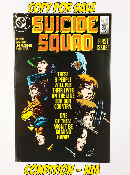 SUICIDE SQUAD - #1 (1987 - CONDITION VF-)