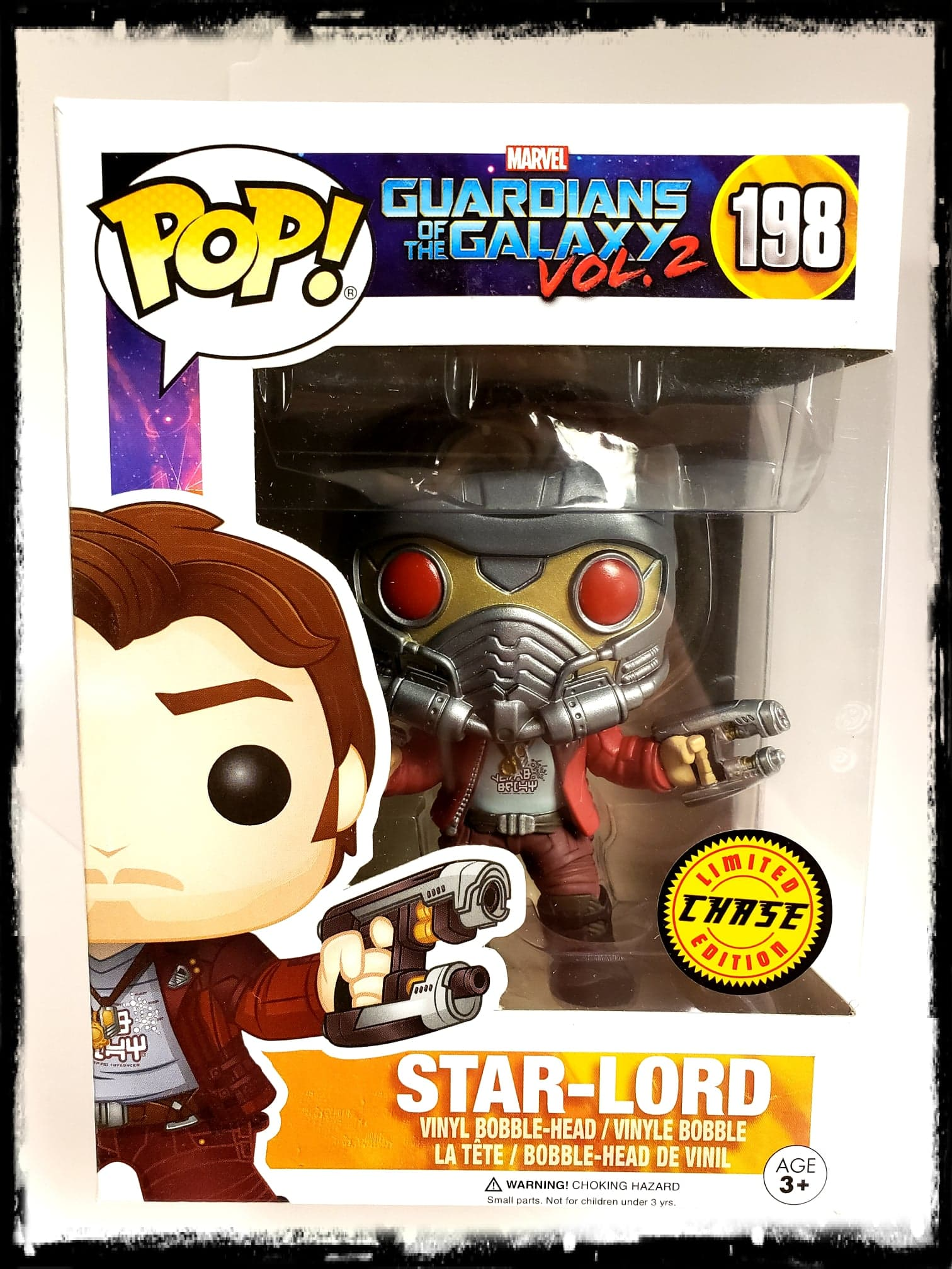 STAR-LORD (VOL. 2 MASKED) #198 - LIMITED CHASE EDITION! - FUNKO POP! (2017)