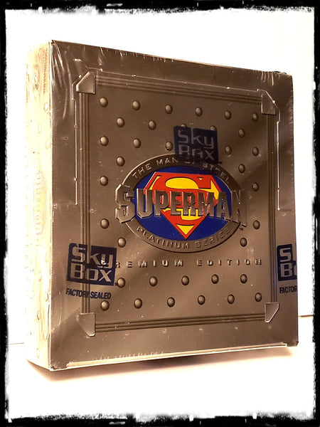 SUPERMAN: MAN OF STEEL PLATINUM SERIES - (1994 SKYBOX) SEALED TRADING CARD BOX