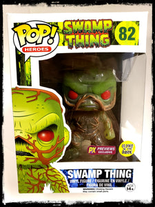 SWAMP THING (GLOW IN THE DARK) #82 - PREVIEWS EXCLUSIVE! - FUNKO POP! (2015)