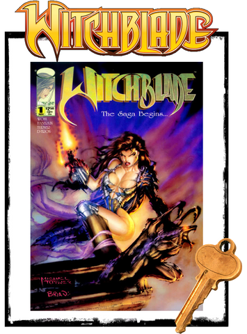 WITCHBLADE - #1 (1995 - CONDITION VF+/NM-)