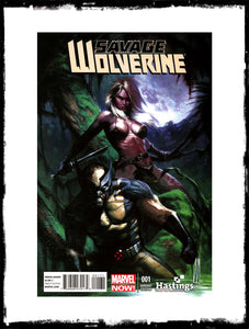 SAVAGE WOLVERINE - #1 GABRIELLE DELL'OTTO VARIANT (2013 - CONDITION NM)