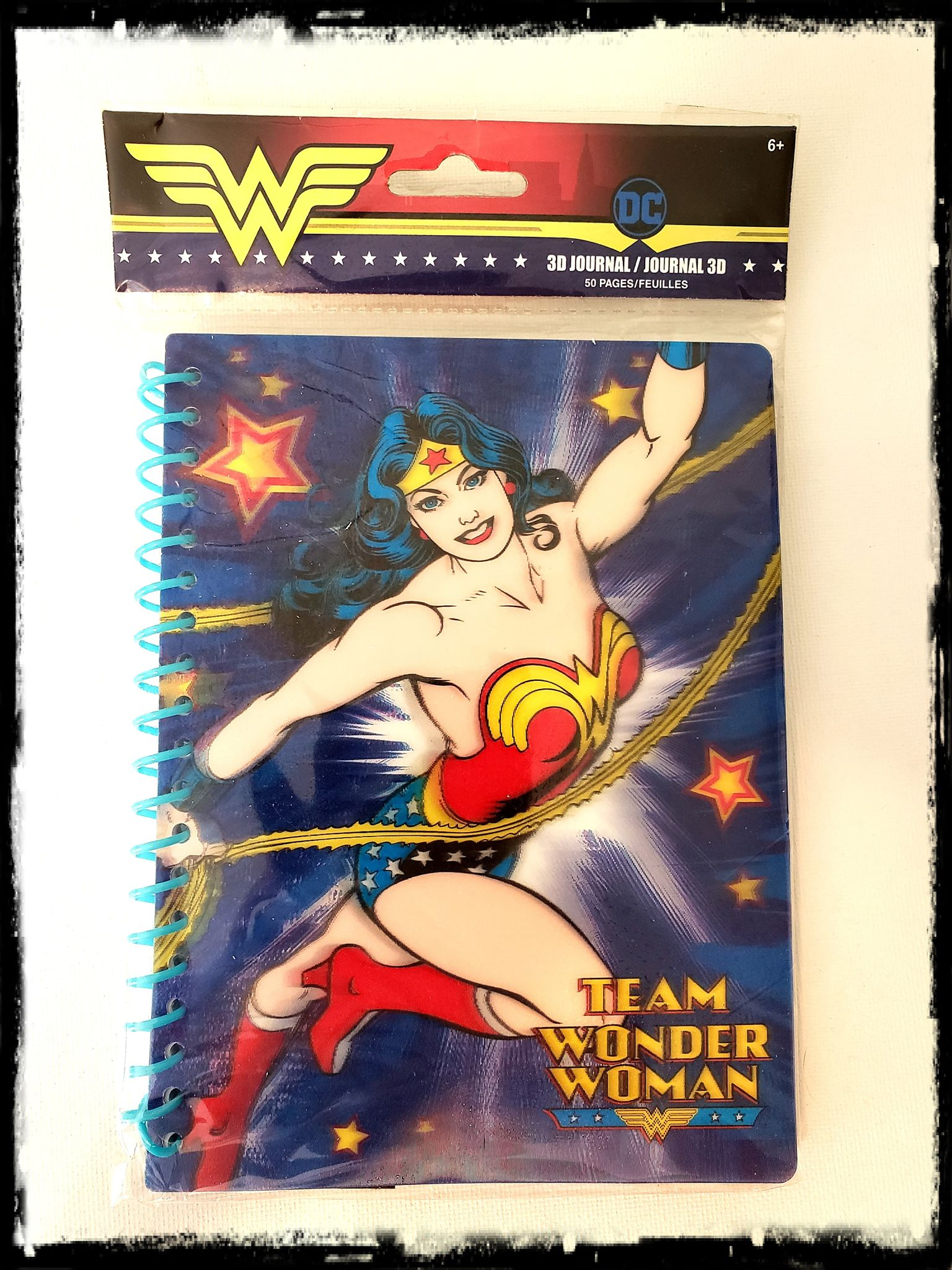 DC - WONDER WOMAN - DIARY / JOURNAL / NOTEPAD