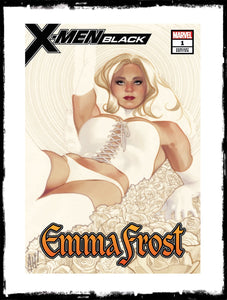 X-MEN BLACK - #1 (Adam Hughes White Queen / Emma Frost Variant)!