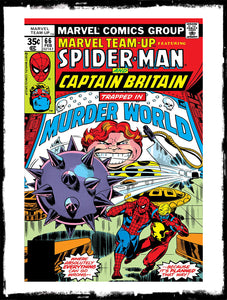 "MARVEL TEAM-UP FEAT SPIDER-MAN - #66 ""TRAPPED IN MURDER WORLD"" (1978 - FN/VF)"