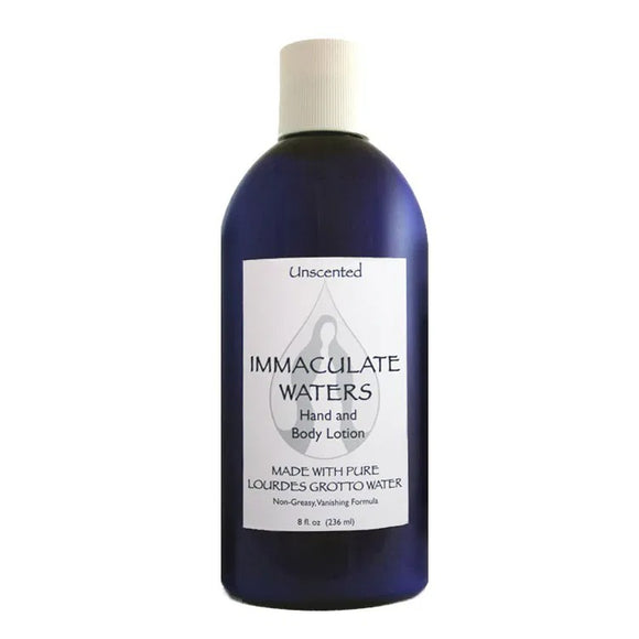 Immaculate Waters Unscented Hand & Body Lotion