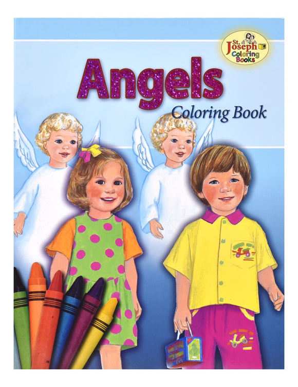 St Joseph Angels Coloring Book
