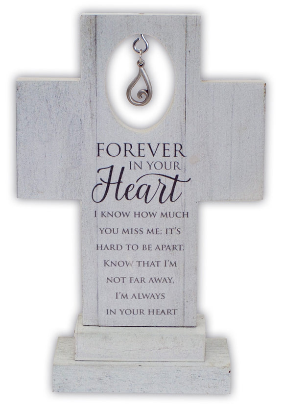 Forever In Your Heart Standing Cross