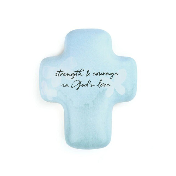 Strength & Courage In God's Love Artful Cross Keepsake Box
