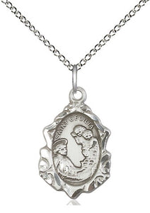 St Cecilia SS Fancy Oval Necklace