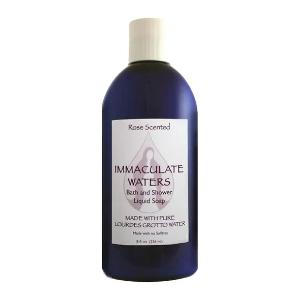 Immaculate Waters Rose Scented Bath & Shower Liquid Soap