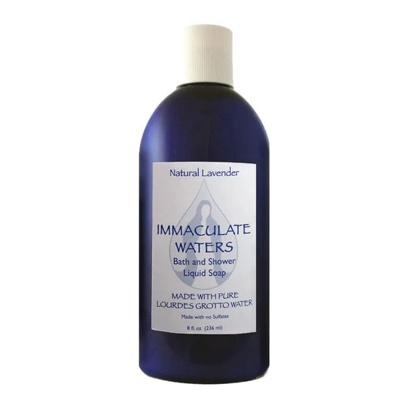 Immaculate Waters Natural Lavender Bath & Shower Liquid Soap