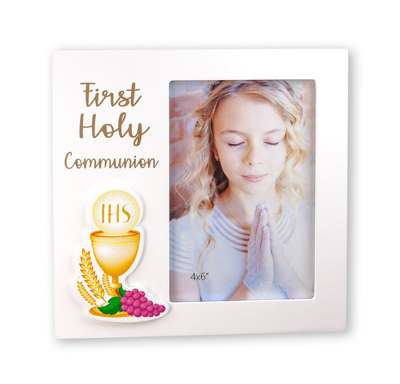 First Holy Communion Wood Picture Frame