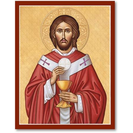 Christ High Priest Icon Plaque 8x10