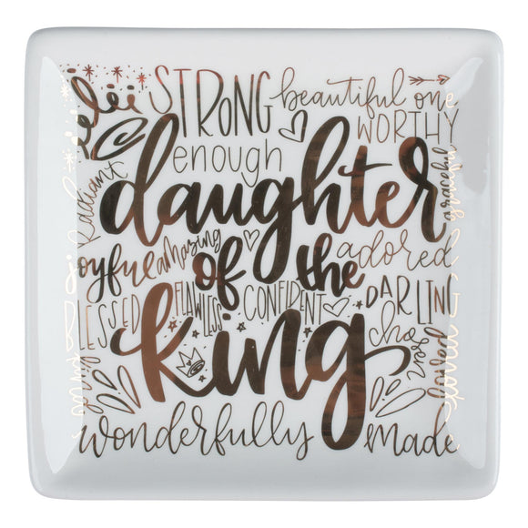 5x5 Daughter of the King Trinket Tray