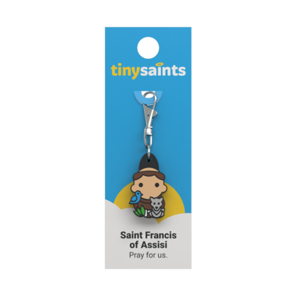 St Francis of Assisi Clip-On Figure