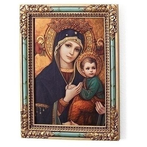 OLO Perpetual Help Icon Square Plaque