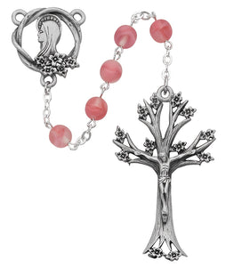Rose Glass Dogwood Rosary