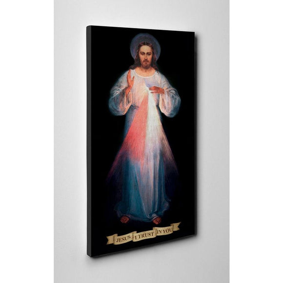 8x16 Divine Mercy Vilnius Original Gallery Wrapped Canvas