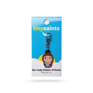 Our Lady Undoer of Knots Clip-On Figure