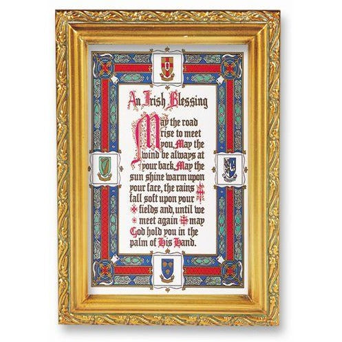 Irish Blessing Small Framed Art