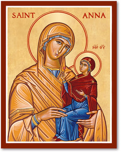 St Anna Icon Plaque