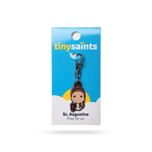 St Augustine Clip-On Figure