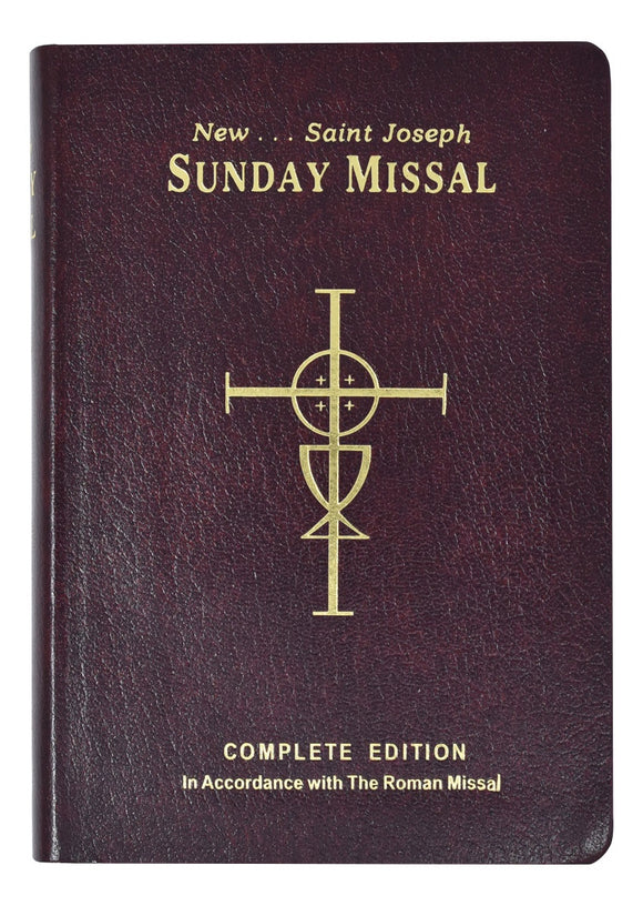 Burgundy Complete Edition Sunday Missal