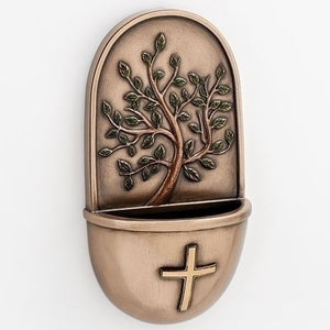 "6"" Tree Of Life Holy Water Font"