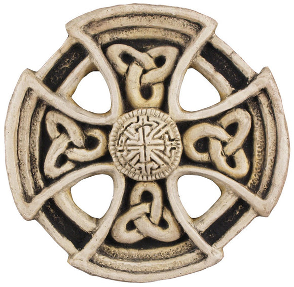 St Columba Wheel Cross
