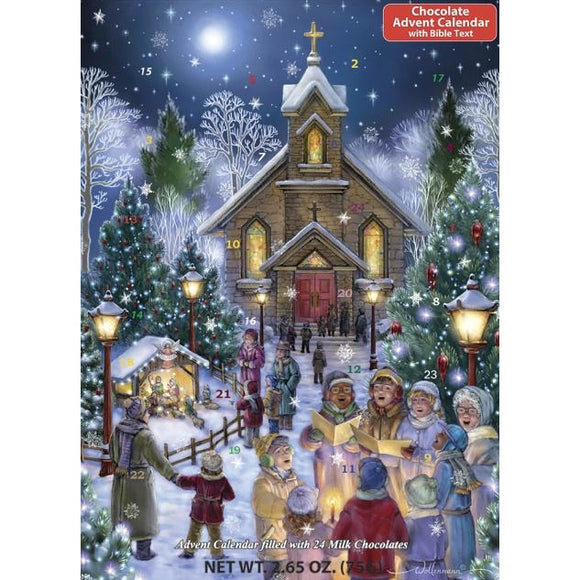 Christmas Eve Chocolate Advent Calendar