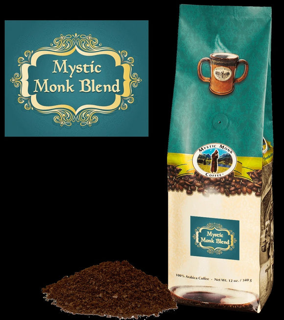 Mystic Monk Blend Ground Coffee