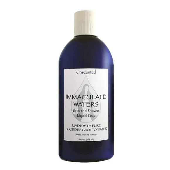 Immaculate Waters Unscented Bath & Shower Liquid Soap
