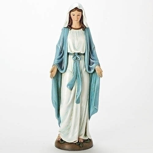 "18.25"" Our Lady Of Grace Figure"