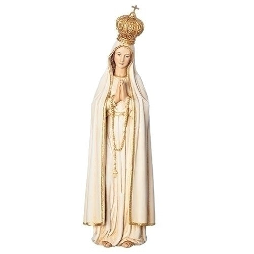 "7"" OLO Fatima Figure with Gold Crown"